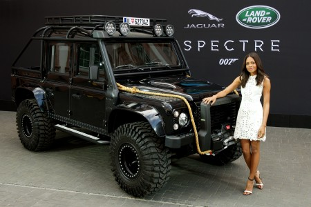 Land Rover Stunt Vehicles in James Bond SPECTRE