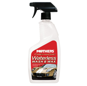 No water? No problem: Mothers  Waterless Wash & Wax