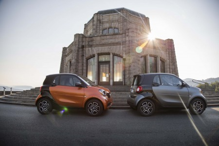 2016 smart fortwo: Spunky Urban Enjoyment