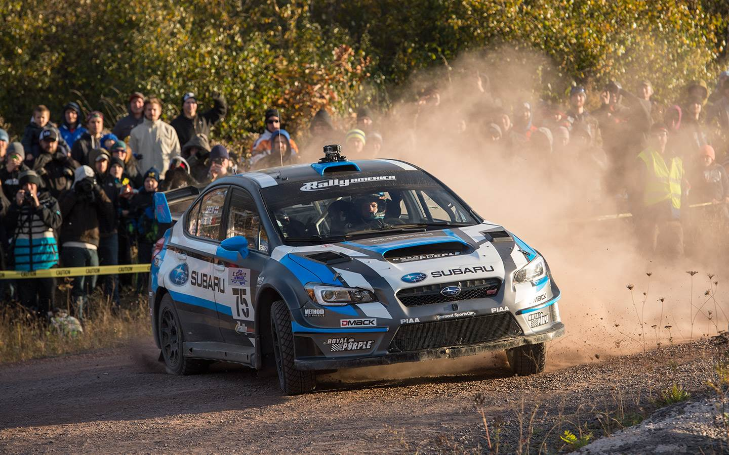 Royal Purple Sponsored Subaru Rally Team Usa Drivers Take First