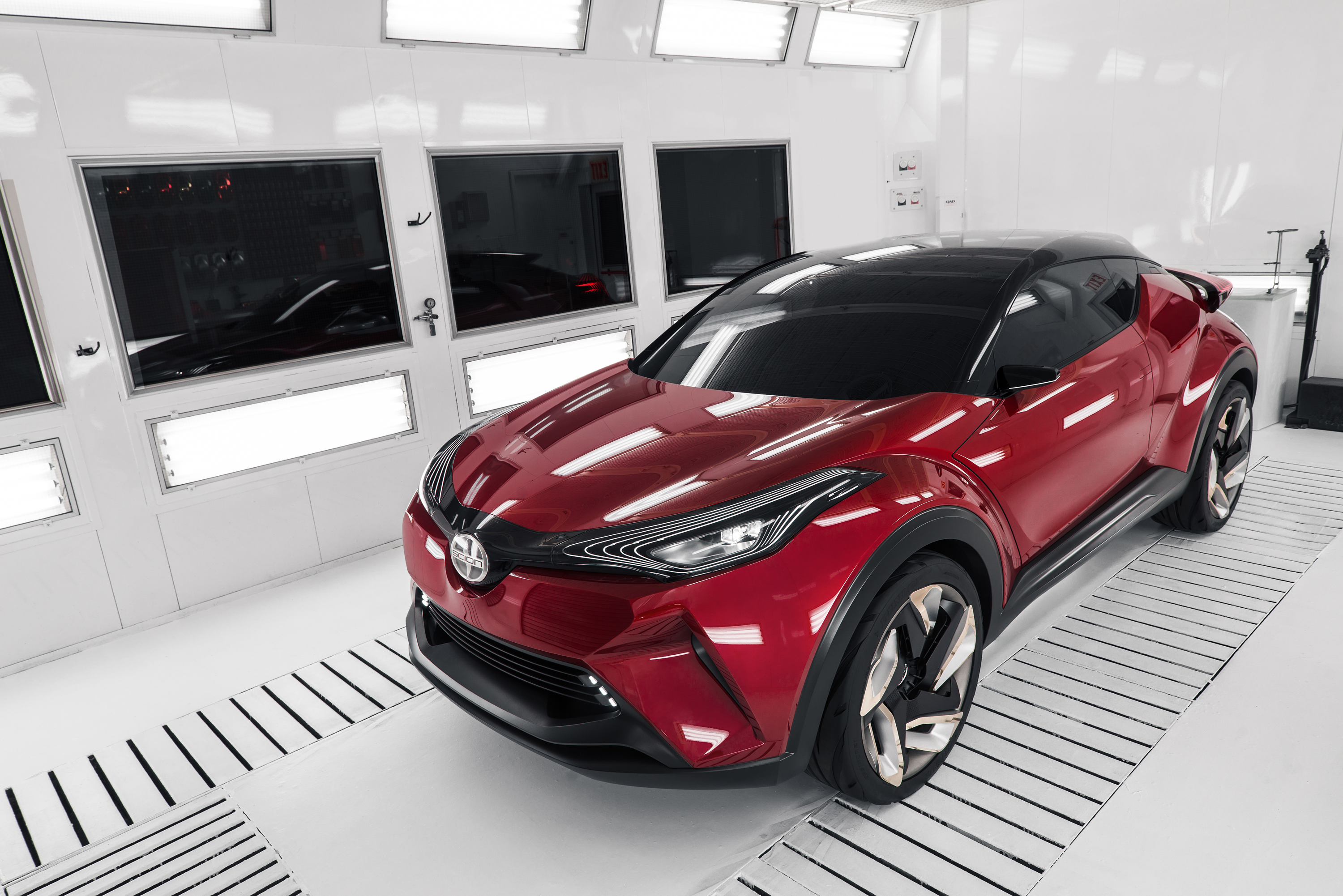 Scions Next Icon World Debut Of CHR Concept Car At Los Angeles - Next auto show