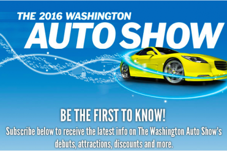 2016 Washington Auto Show: Start Your Imagination
