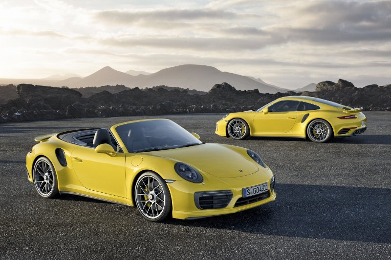 Porsche Announces the 911 Turbo and 911 Turbo S (PRNewsFoto/Porsche Cars North America, Inc.)