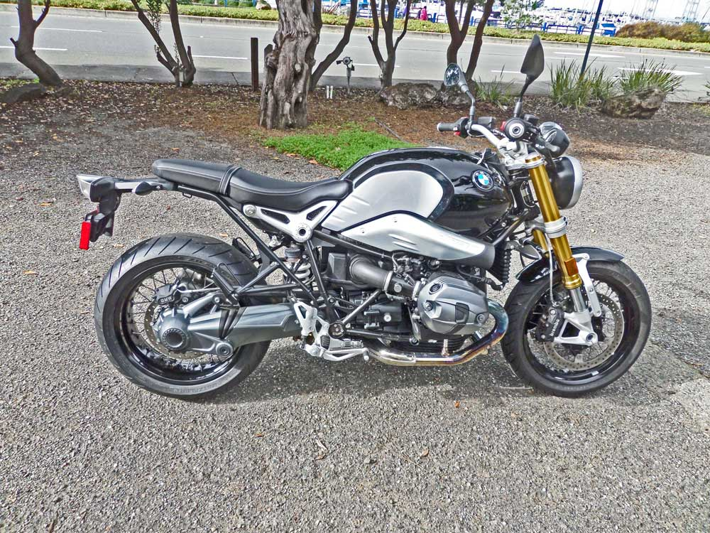 2015 bmw r ninet: a comfortable sport roadster for two (or not