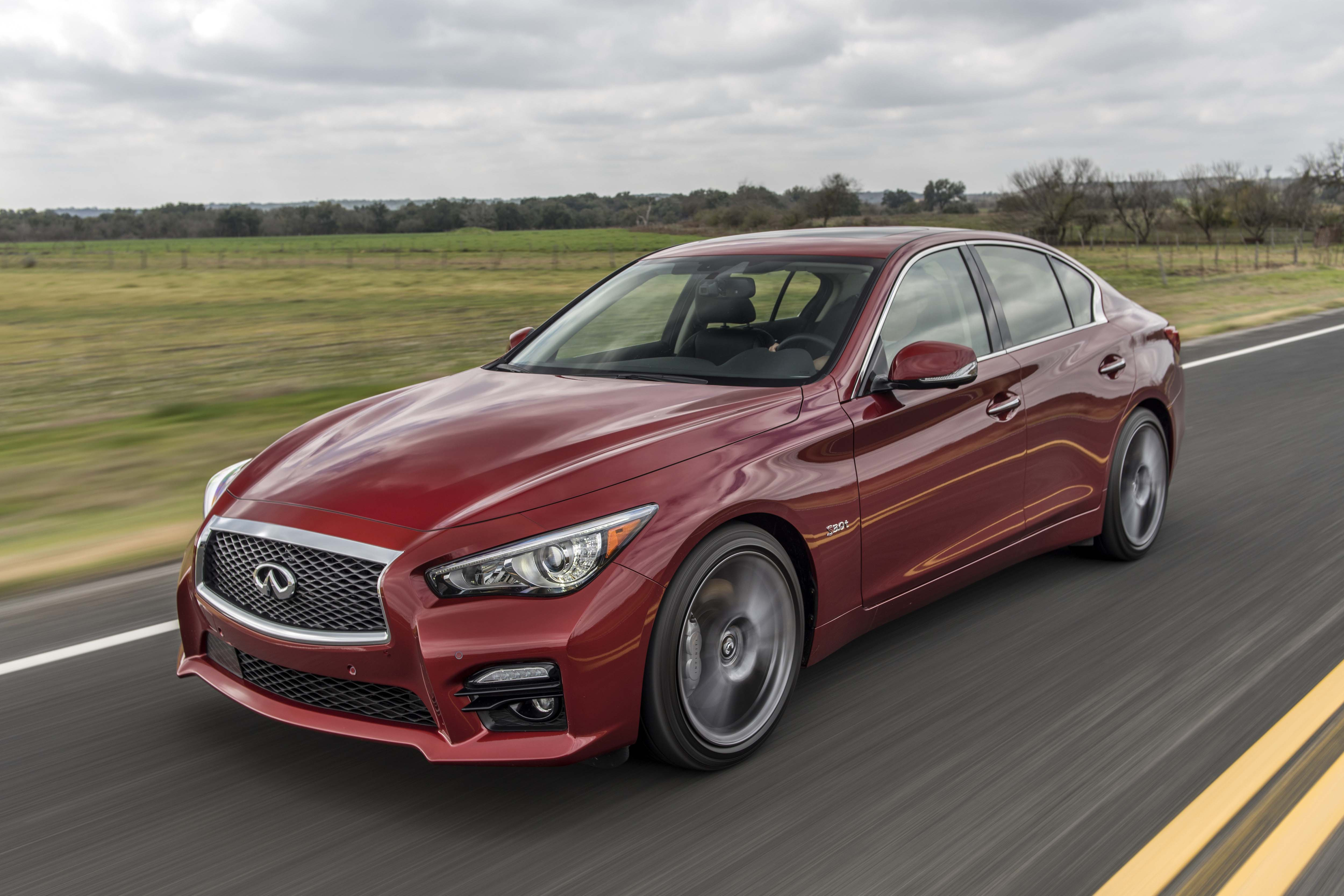 Infiniti Q50 Models Equipped With The 3.0 Liter V6 Twin Turbo 400 Hp Engine