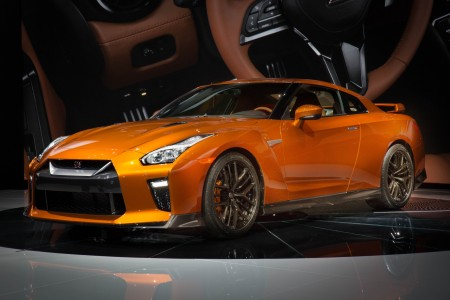 2017 Nissan GT-R World Debut at New York International Auto Show