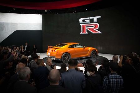2017 Nissan GT-R Debuts at the 2016 New York International Auto Show