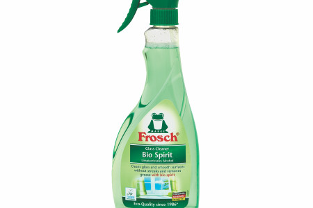 "German Engineering Goes Green: Frosch ""Bio Spirit Glass Cleaner"" Now Available in the U.S."