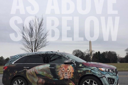 2016 Kia Sorento SXL Art Car: As ABOVE, So BELOW