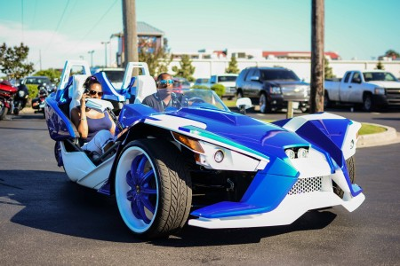 Polaris Slingshots take over South Carolina