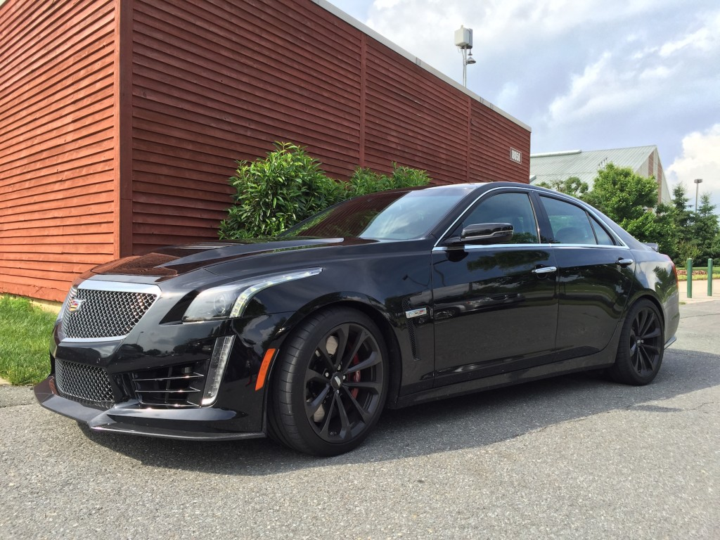 2016 cadillac cts v all black everything automotive rhythms. Black Bedroom Furniture Sets. Home Design Ideas