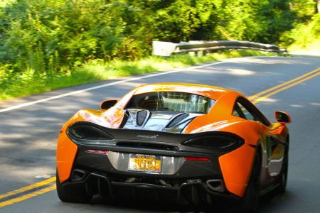 Photo Gallery 2017 Ventura Orange McLaren 570S & McLaren Swan Doors | AUTOMOTIVE RHYTHMS