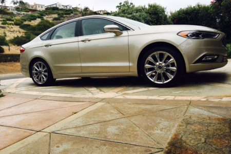 LA Drive-bys in the 2017 Ford Fusion Hybrid
