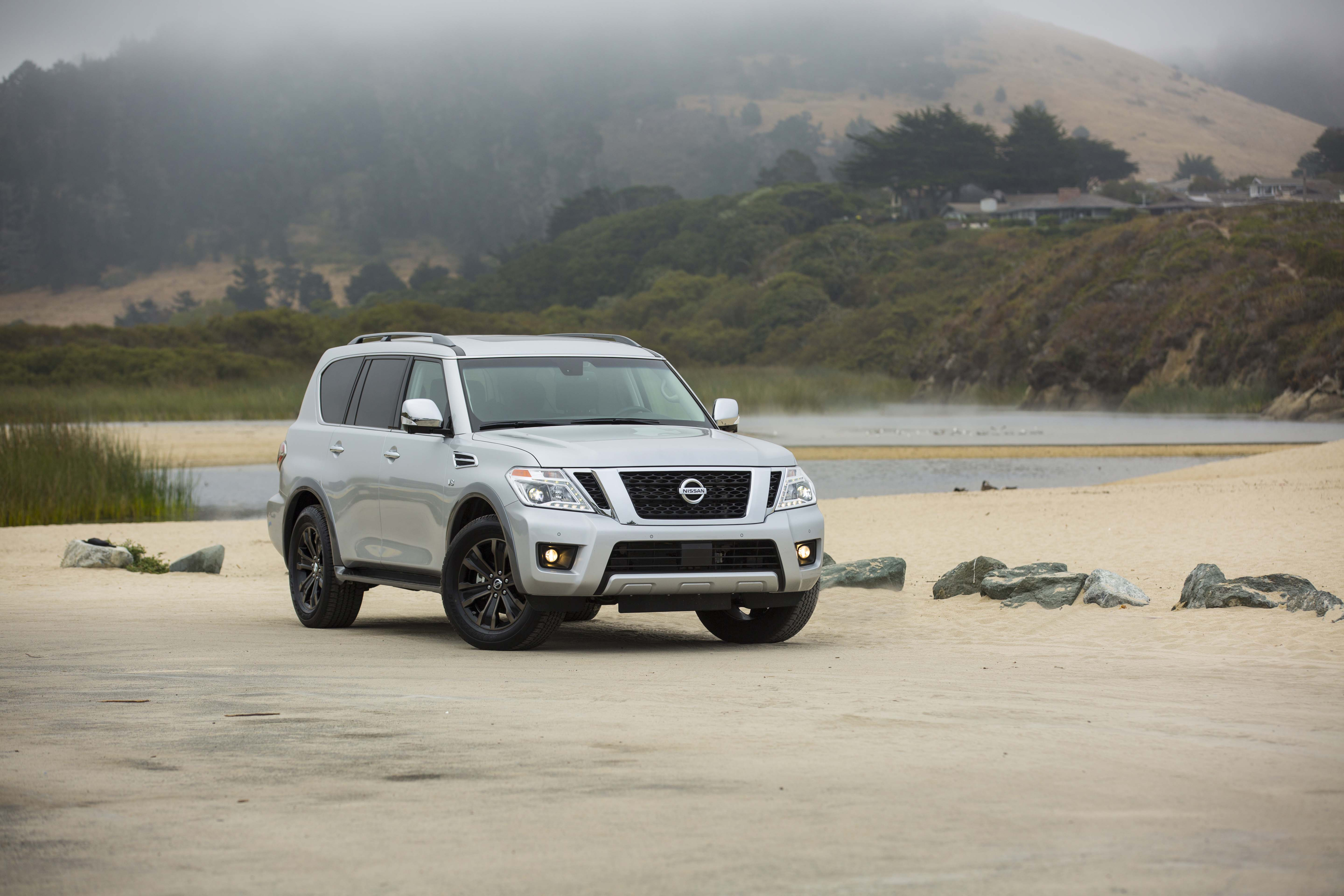 base rises suv nissan slightly to news angular armada rear price sv