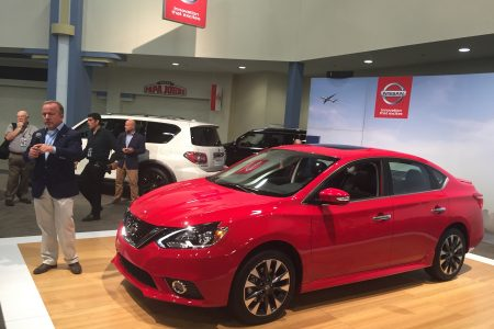 2017 Nissan Sentra SR Turbo graces the Miami Auto Show