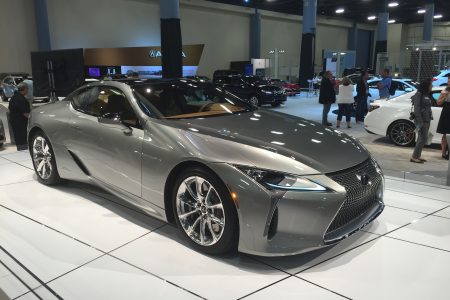 Miami Auto Show Introduction: 2018 Lexus LC 500h