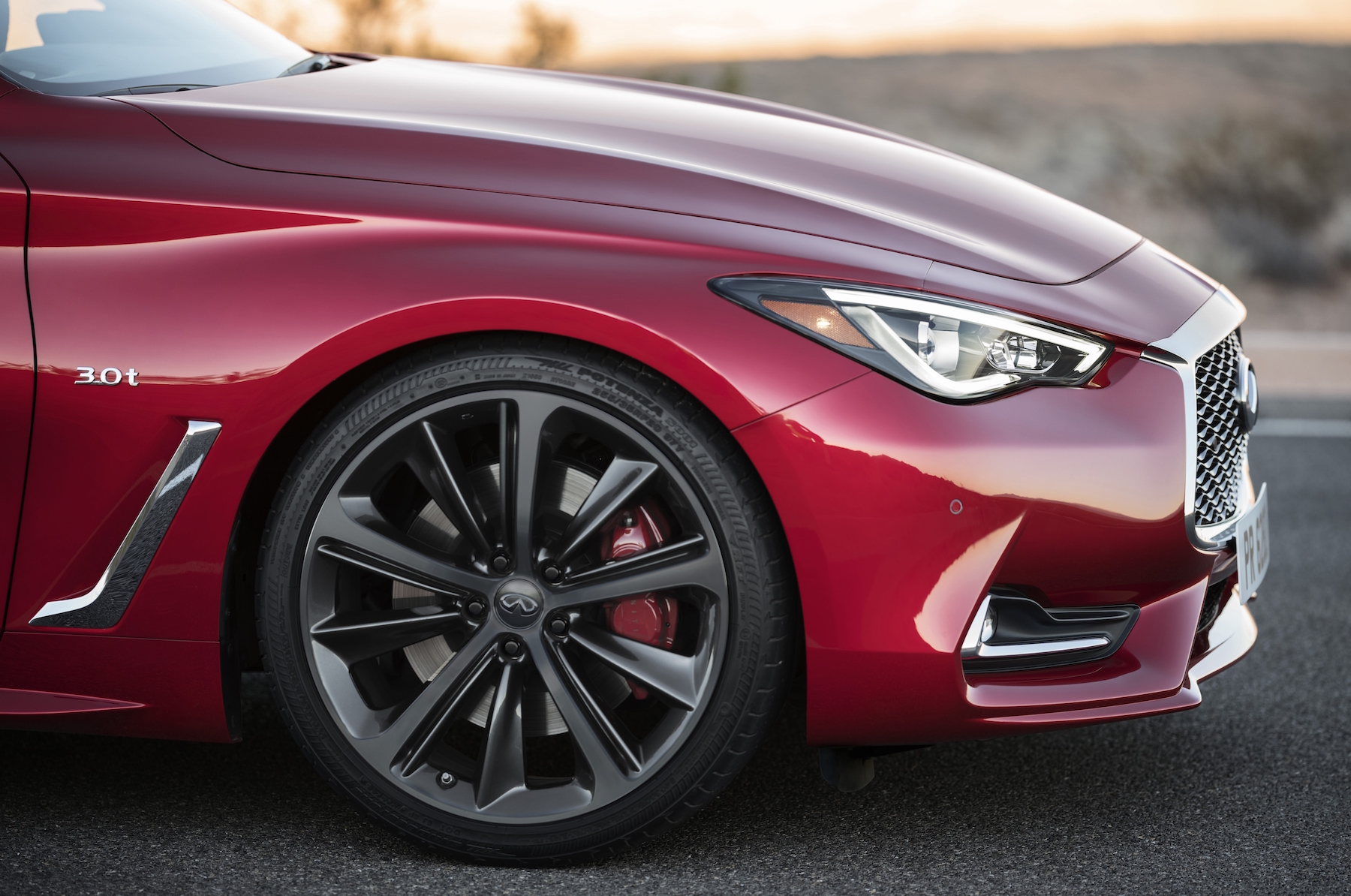 The all-new 2017 INFINITI Q60, a style leader since its original inception, offers a compelling combination of daring design and exhilarating performance and dynamics. The third-generation of INFINITI's renowned sports coupe is offered in a range of two-wheel and all-wheel drive configurations and powerplants – including the 3.0-liter V6 twin-turbo that it shares with the popular INFINITI Q50 sports sedan.