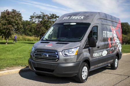 Fitness Goes on Tour with New #FitTruck Transit Van as Ford and Reebok Team Up on Tough Road Trip with Fitness Stars