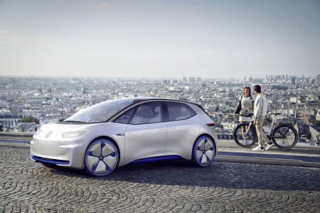Volkswagen I.D. Electric Concept Car: Think New