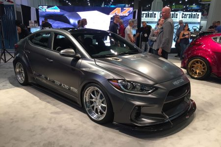 Road Racer Hyundai Elentra Concept by ARK Performance for 2016 SEMA Show