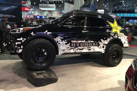 Hyundai Rockstar Santa Fe Concept Off-roader Showcased at 2016 SEMA Show