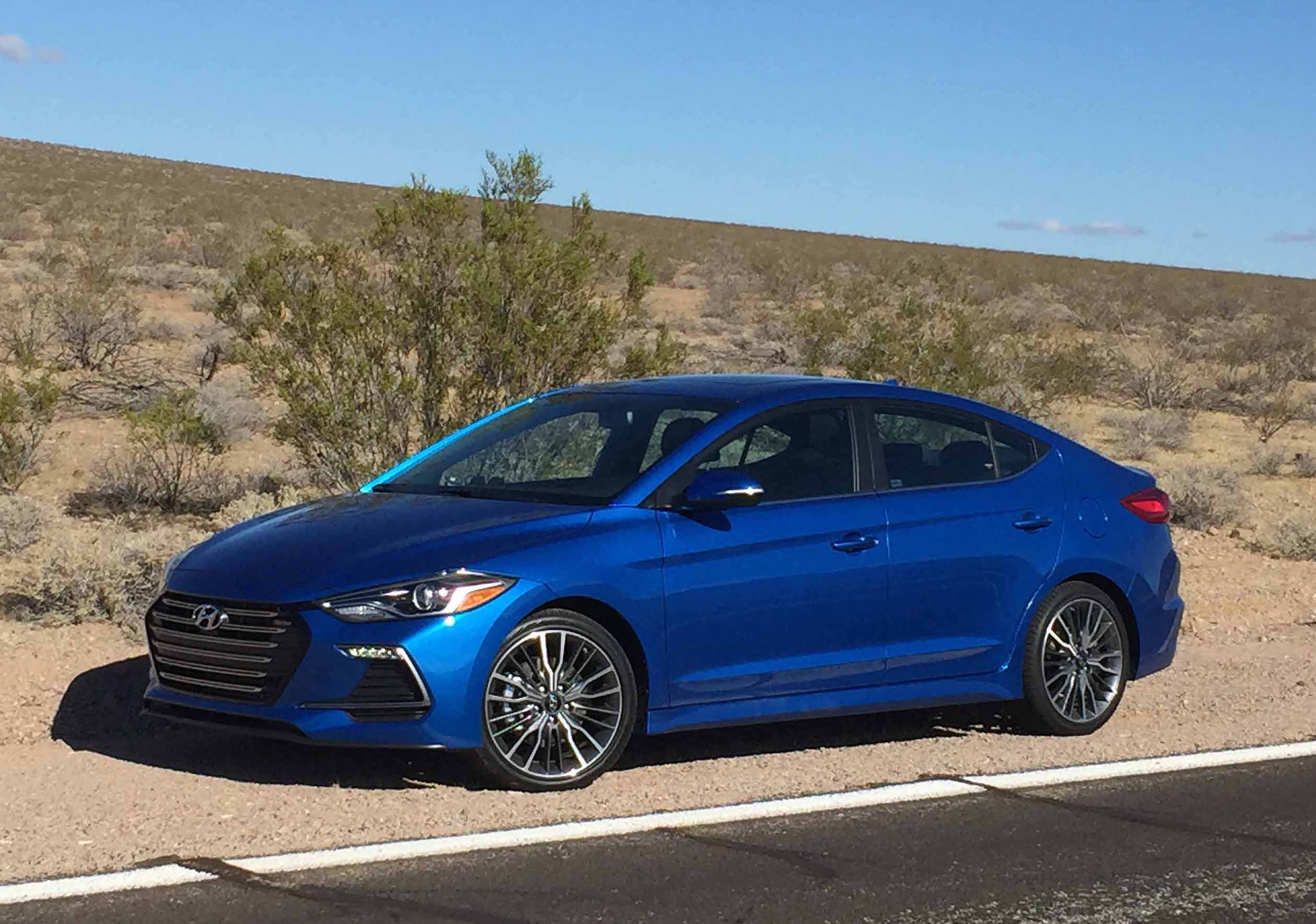 2017 Hyundai Elantra Sport Desert Heat Automotive Rhythms