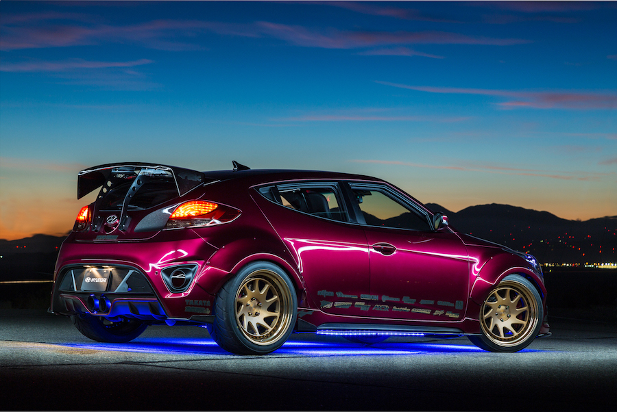 2018 Hyundai Veloster Spec >> Race-ready Hyundai Veloster Concept for 2016 SEMA Show | AUTOMOTIVE RHYTHMS