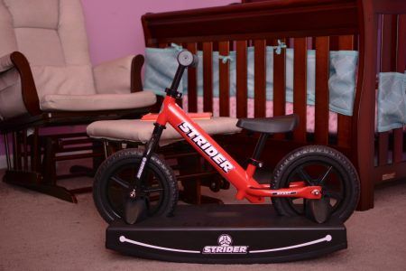 "Strider 12"" Balance Bike and Rocking Base"