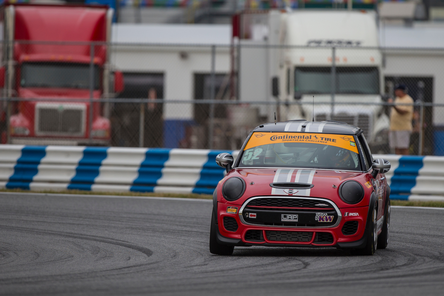 Mini Jcw Team Wins Their First Imsa Continental Tire Sportscar