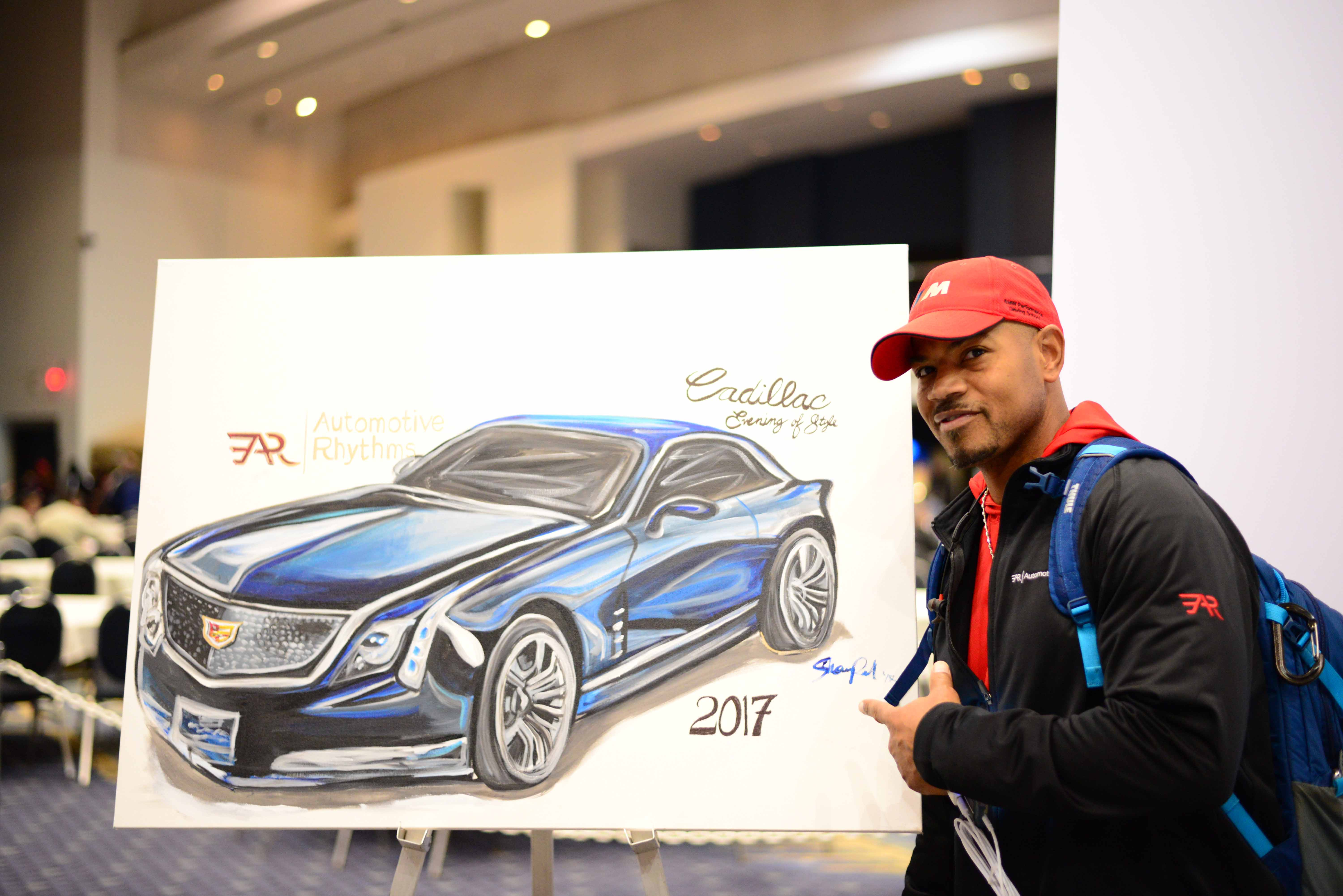 2nd Annual Art Of Motion Exhibit At The 2017 Washington Auto Show