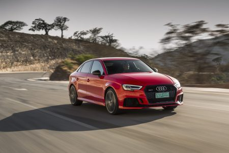 2018 Audi RS 3 sedan makes its North American debut in New York