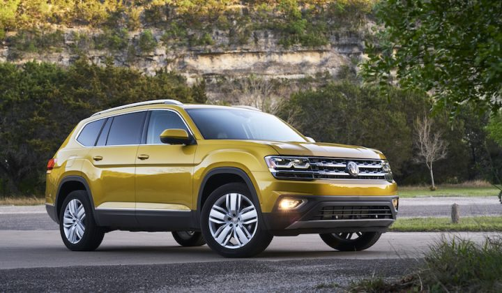 2018 Volkswagen Atlas: Active, On-The-Go Family Style