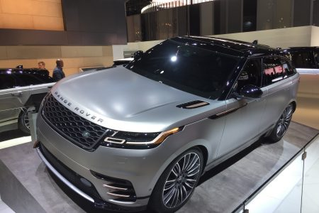 All-new 2018 Range Rover Velar