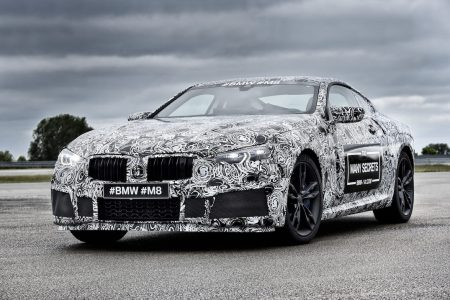 Camouflaged, Early Prototype of the Future BMW M8
