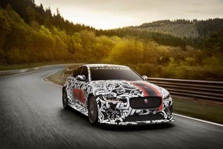 The New Jaguar XE SV Project 8