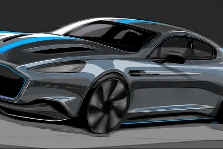 Aston Martin Confirms RapidE: The Brand's First All-Electric Model