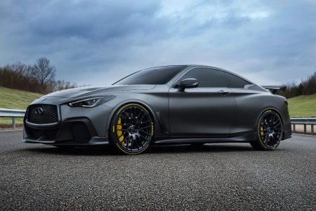 PIRELLI AND INFINITI ANNOUNCE 'PROJECT BLACK S' PARTNERSHIP