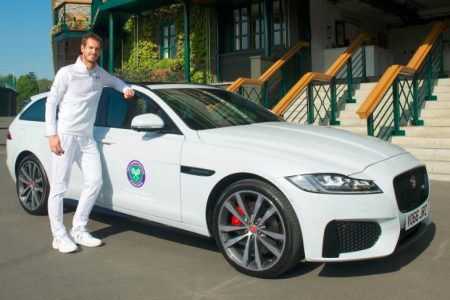 THE JAGUAR XF SPORTBRAKE TROPHY TOUR: MURRAY, MOURINHO AND THE STOLEN WIMBLEDON TROPHY