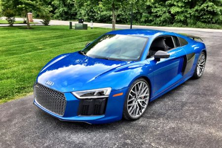 2017 Audi R8 V10 plus Coupe quattro S tronic: Gone in 3.2!