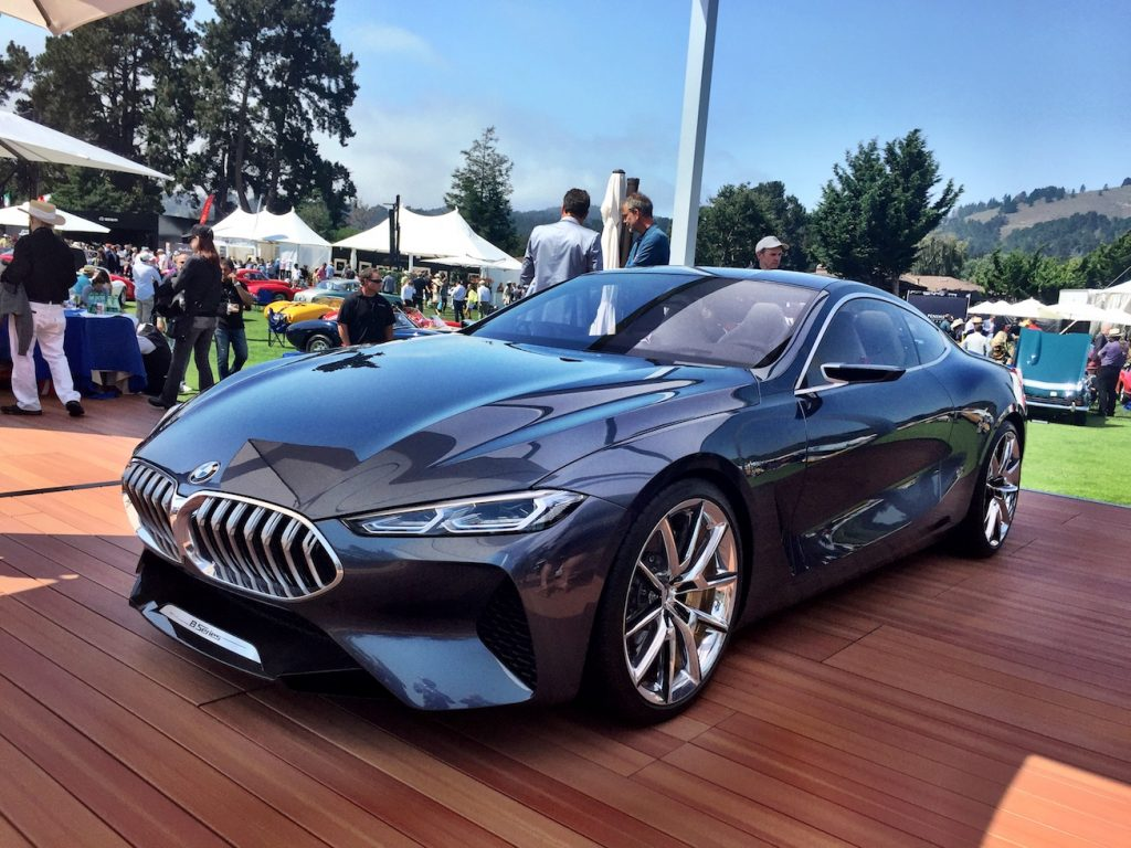 Bmw Concept 8 Series Visits Monterey Car Week Automotive