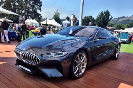 BMW Concept 8 Series Visits Monterey Car Week