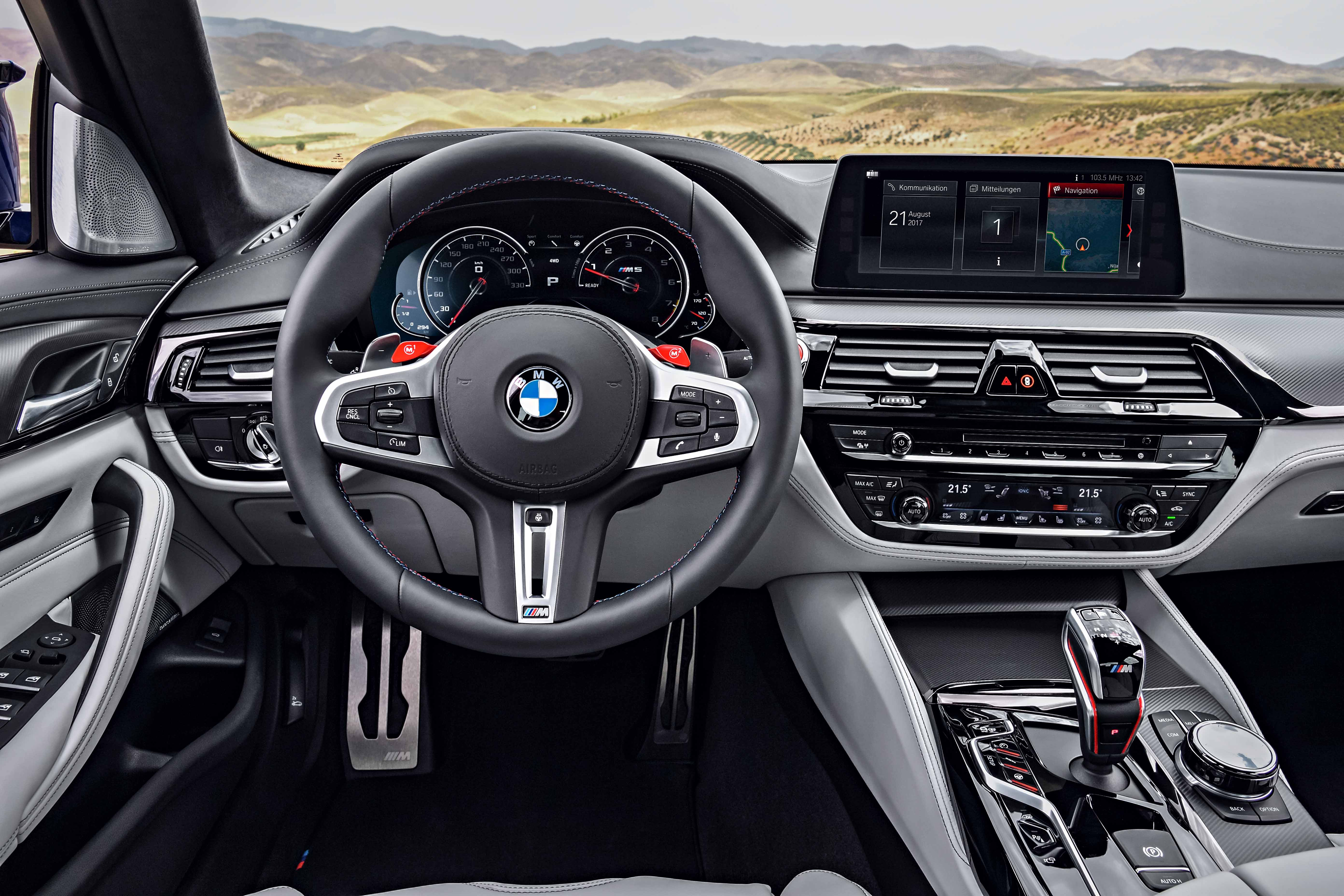 The All New 2018 Bmw M5 The Quintessential High