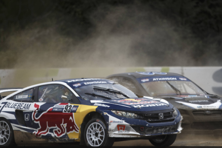 Tanner Foust Wins Red Bull GRC Seattle I