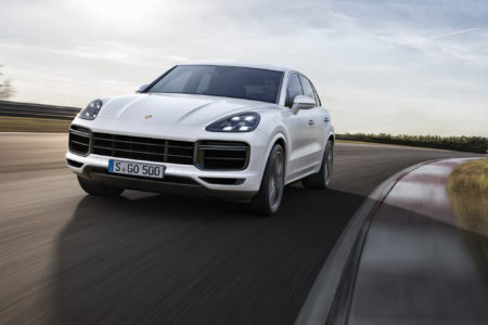 The new 2019 Porsche Cayenne Turbo