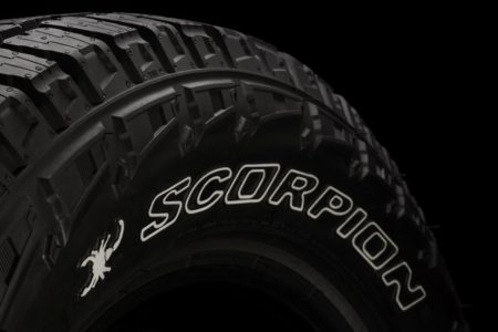 Pirelli previews the new Scorpion All Terrain Plus at the the 2017 SEMA Show