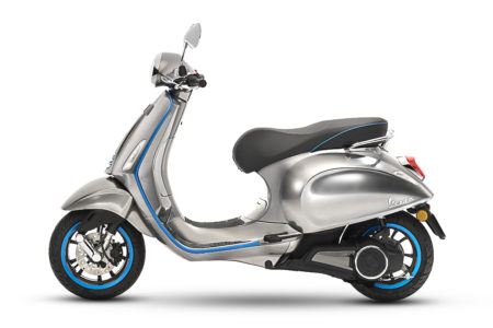 Piaggio Introduces the Vespa Elettrica Project