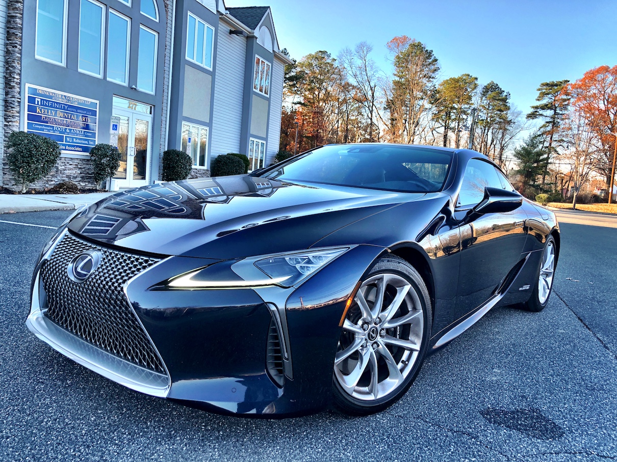 2019 Lexus Lc 500 Preview >> 2018 Lexus LC 500h Touring in Nightfall Mica | AUTOMOTIVE RHYTHMS
