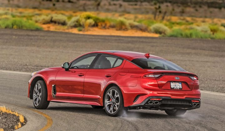 2018 Kia Stinger: Newfangled Performance Fastback