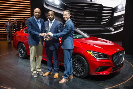 Genesis G80 Wins Premium Fullsize Category for ALG's 2018 Residual Value Awards