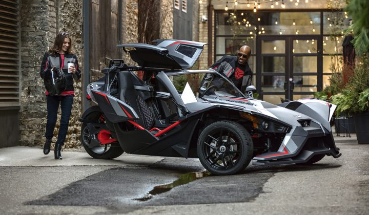 Introducing the Slingshot Grand Touring LE